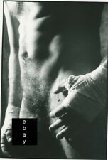 JAMES A. FOX NUDE MALE NU MASCULIN  BOXE BOXING 1970s PHOTO ORIGINAL #106