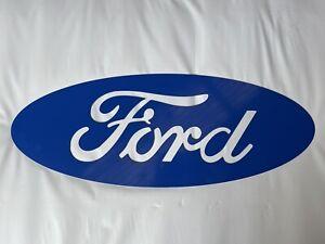 Small steel Ford Sign - Mancave Garage Decor Mechanic Workshop