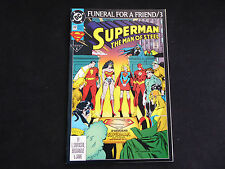 """Superman:The Man of Steel #20 Funeral for a Friend/3 """"In Memoriam"""" (Feb 1993 DC)"""