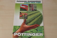 158695) Pöttinger Cat Hit Top Prospekt 11/1997