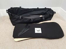 Bugaboo donkey black v1 carrycot with mattress & wooden board