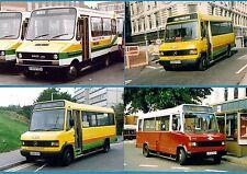 4 Birmingham Bus Photos ~ Midland Red West: Mercedes-Benz & Iveco Minis: 1990s