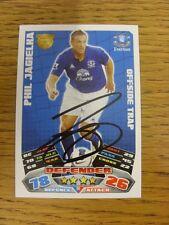 "2011/2012 AUTOGRAFO: Everton-jagielka, Phil [firmato a mano ""TOPPS MATCH ATTAX 'T"