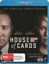 House Of Cards : Season 4 (Blu-ray, 2016, 4-Disc Set)