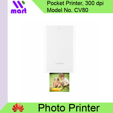 (Local) Huawei Pocket Photo Printer 300dpi Bluetooth With DIY Share CV80 White