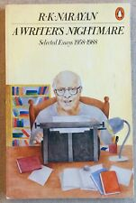 Writer's Nightmare SIGNED by R. K. NARAYAN 1st Corrected Paperback Edition RARE!