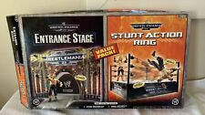 WrestleMania 23 Entrance Stage & Ring Boxed Value Pack Jakks Pacific WWE WWF