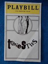 Travesties - Ethel Barrymore Theatre Playbill - January 1976 - John Wood - Curry