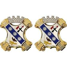 USA Army Unit Crest 8th Infantry Regiment - 1-PAIR  NEW  (Army Issue)