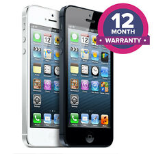 Apple iPhone 5 Unlocked Smartphone - 16GB 32GB 64GB - All Colours
