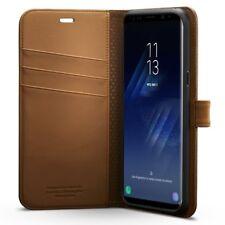 Spigen Wallet S Premium Case For Samsung Galaxy S8 Plus Brown (571CS21688)