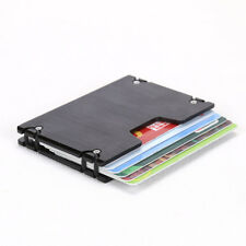 Slim Aluminum Alloy ID Credit Card Holder Business Metal Wallet Money Clip Purse