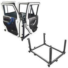 Offroad Door Storage Movable Cart Door Holder for 07-18 Jeep Wrangler JK JL 4DR