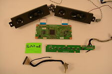 Olevia 332-B11 Small Parts Repair Kit TCON;SPEAKERS;LVDS CABLE;CONTROLS