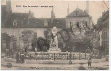 DIJON 3 CPA - Place des cordeliers Monument Piron - Ouche au pont de l'hôpital -
