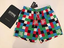 New w Tags & Bag Authentic Vilebrequin Moorea Multicolor Swim Trunks - Men XL
