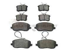 FIAT ULYSSE 2.0 2.2 JTD 2002-2006 FRONT & REAR BRAKE PADS FULL SET NEW
