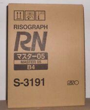 Riso 07 Master S-3379 für Riso FR-3910