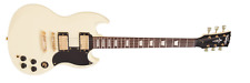 NEW! Vintage Brand VS6VW electric guitar in vintage white finish