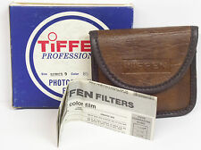 Tiffen Series 9 (82mm) drop in #85 Light balancing filter with pouch in box