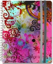 Wire-O Journal Vivid Frost Medium Lined both Sides 200 Spiral Journal 8.25x5.75