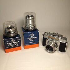 Agfa ambi silette camera fotocamera solinar Ambion telinear obiettiva FOTO PHOTO RAR