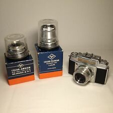 Agfa Ambi Silette Camera Kamera Solinar Ambion Telinear Objektive Foto Photo rar