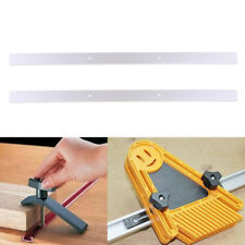 2x/set 600mm T-track Woodworking T-slot Miter Track Jig Fixture Router Table