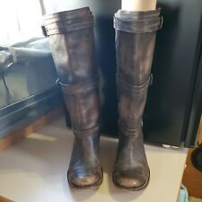 Frye Womens Brown Leather Western Boots Size 9 B
