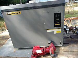 2 Laar's Pennant 750K BTU Hydronic gas Boilers W/CSD-1 & LWCO
