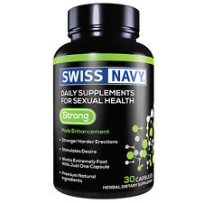 SWISS NAVY STRONG 30 CAPSULES FOR MEN'S SEXUAL HEALTH STRONG