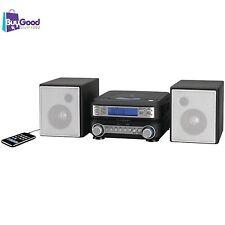 Compact Mini Stereo System Cd Shelf Mp3 Player Am Fm Radio Audio Speaker Remote