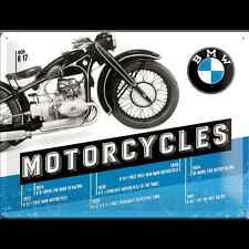 Metal Sign BMW Motorcycles 1935 R17 (40 x 30 cm)