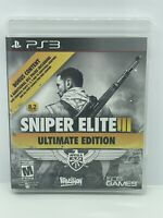 Sniper Elite III: Ultimate Edition PS3 Used PlayStation 3, Playstation 3 (CIB)