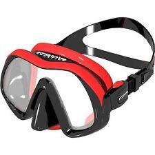 Atomic Venom Frameless Mask, Black Red