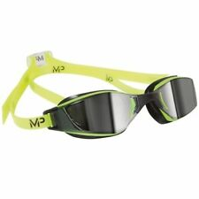 Aqua Sphere Michael Phelps XCEED Swimming Goggles - Mirror Lens - Yellow/Black