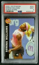 2002 Czech Stadion #567 Serena Williams Rookie Card RC PSA 9 Mint POP 2 Rare!