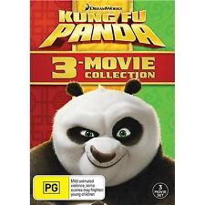 Kung Fu Panda Trilogy 3 Movie Collection 1 2 3 1-3 New DVD Box Set Region 4 R4