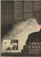 20/2/82Pgn26 Article & Picture(s) Echo And The Bunnymen 'a Promise Of Rock Re-bo