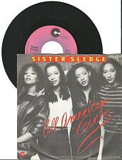 "Sister Sledge, all American Girls, G/VG, 7"" single, 1485"
