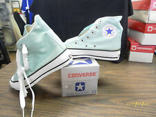 Vintage Converse Chuck Taylor All Star MADE IN THE USA. SIZE 2.5 pastel green