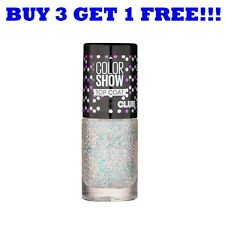 Maybelline Nail Polish Color Show Top Coat 7ml Glitter It 293