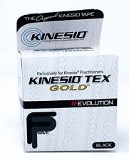 "Kinesio® Tex Gold™ FP (Finger Print) Wave Tape One Roll 2"" x 16.4' - Black"