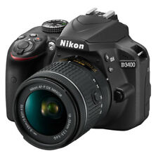 Nikon D3400 24.2 MP Digital SLR Camera with 18-55mm f/3.5-5.6G AF-P DX Lens