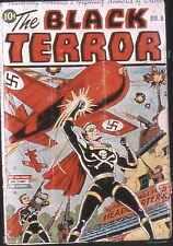 Black Terror #8 Photocopy Comic Book