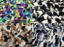 Luxury Tissavel Faux Fur Fabric Patterned Faux Furs