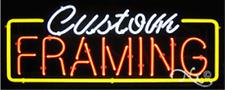 Brand New Custom Framing 32x13 Border Neon Sign Withcustom Options 10224