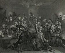 William Hogarth: 6 großartige Riepenhausen-Stiche vor 1850 tolles rares Ensemble