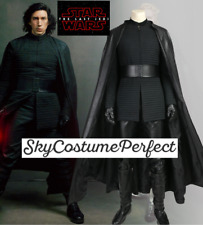 FREE WW SHIP Star Wars 8 Last Jedi Kylo Ren CUSTOM ! Cosplay Costume SET BOOTS