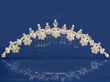 SC Wedding Crystal Tiara Flower Girl Pageant Homecoming Prom Comb 2371